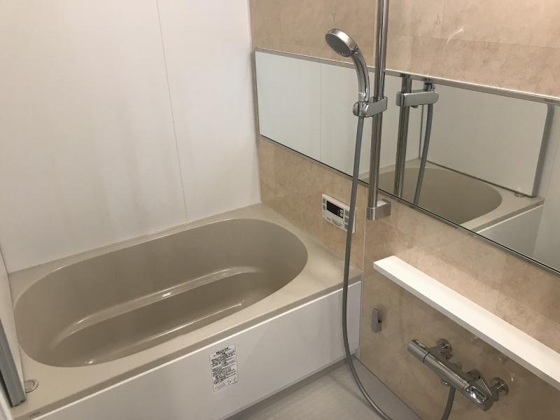 お風呂入替え 工事 リフォーム施工後